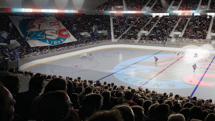 Das geplante ZSC-Stadion Theatre of Dreams