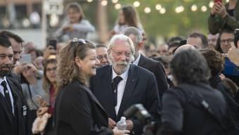 """Der kanadische Schauspieler Donald Sutherland wird am diesjährigen Filmfestival in San Sebastián für sein Lebenswerk ausgezeichnet. Den Donostía-Preis wird er am 26. September für """"mehr als 50 Jahre vorzüglicher Leistungen"""" entgegennehmen. (Archivbild)"""