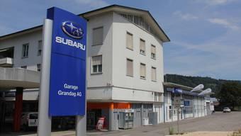 Liquidation der Garage Grandag in Windisch