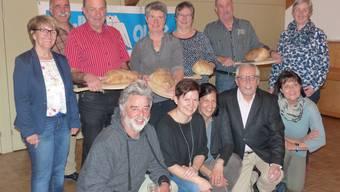 Die Arbeitsgruppe mit den Wittnauer Brotbackspezialistinnen und -spezialisten.
