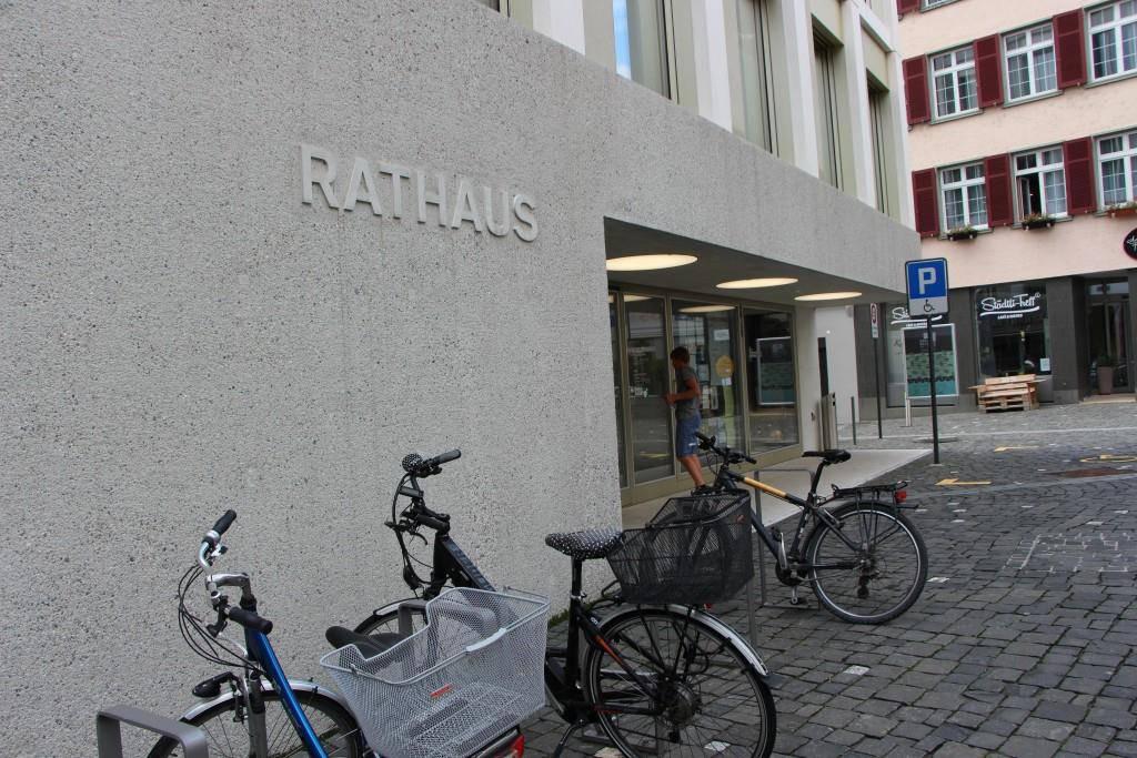 Das abgekürzte Verfahren fand im Rathaus Altstätten statt.