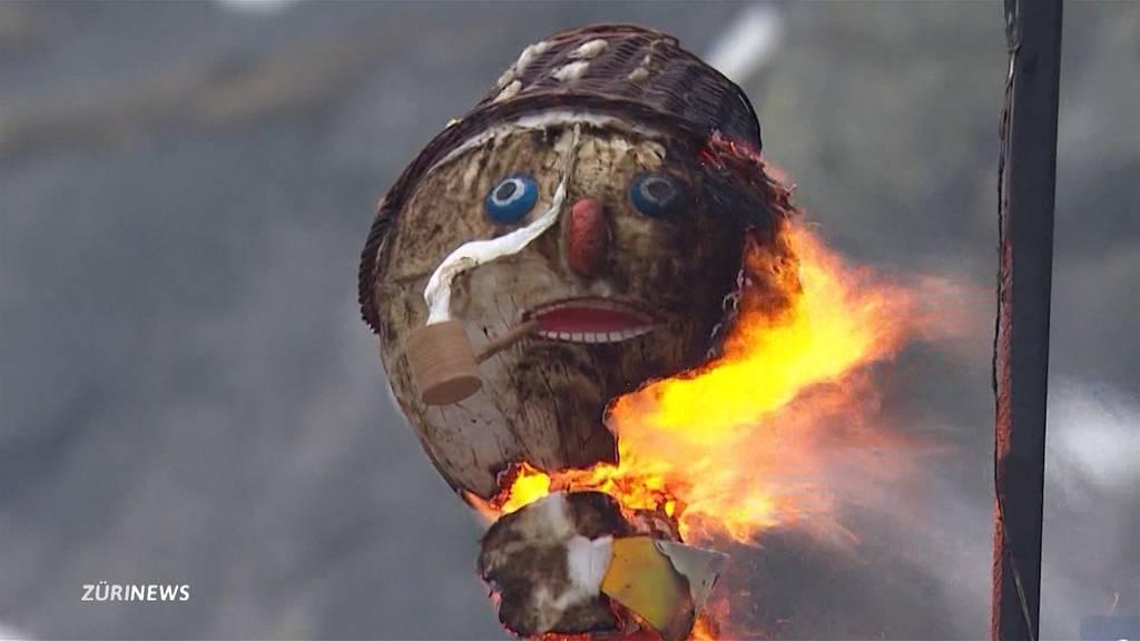 Der berühmteste Zürcher geht fremd: Böögg-Verbrennung findet ausnahmsweise in Urner Schöllenenschlucht statt