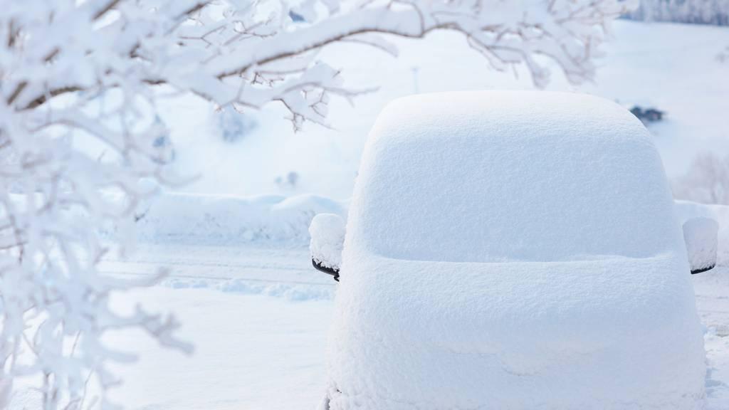 Nach der Kälte gibt es ab dem Wochenende Schnee - zumindest in den östlichen Landesteilen.