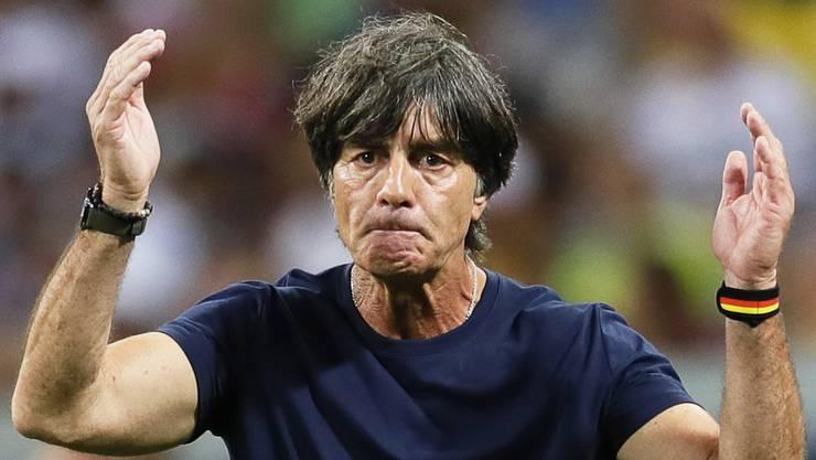 Der deutsche Nationaltrainer Joachim Löw ist nach dem WM-Aus bedient.