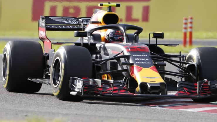 Vorjahressieger Max Verstappen war Schnellster im ersten Training