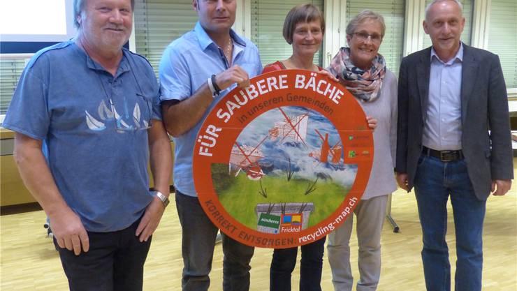 Das neue Entsorgungsrad der Arbeitsgruppe «Sauberes Fricktal» wird im Frühjahr 2019 den Gemeinden zugeschickt. Ingrid Arndt