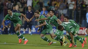 Ludogorez Rasgrad qualifiziert sich für die Champions League, dank eines Verteidigers, der als Torhüter im Einsatz stand.