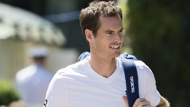 Nicht genügend fit für Wimbledon: Andy Murray