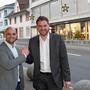 «Grosse Auswahl im Dorf bewusst machen»: OK-Präsident Fabian Schönenberg (l.) und Hago-Präsident Adrian Meyer.