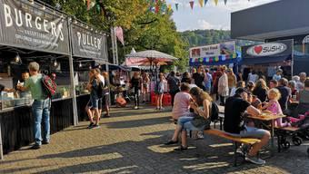 Streetfood Festival Aarau 2018