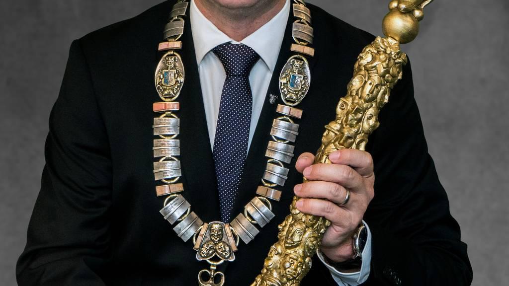 Maskenliebhaber: Linus Gähwiler neuer Präsident