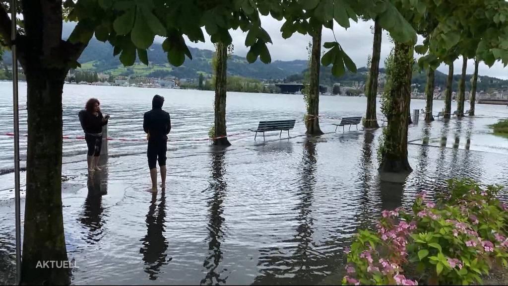 Unwetter-Überblick: Die aktuelle Hochwasser-Situation in der Schweiz