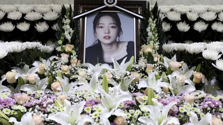 Goo Hara, die durch ihre Mitgliedschaft bei der südkoreanischen Girlband Kara bekannt geworden war, wurde am 24. November 2019 tot in ihrer Wohnung in Seoul aufgefunden. (Archiv)