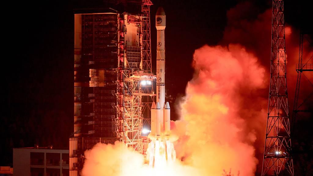 China schiesst letzten Satelliten für das Beidou-Netzwerk ins All