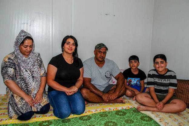 Die Familie Oaqilis ist aus dem Irak nach Zypern geflohen.