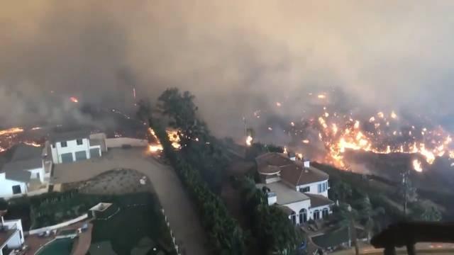 Waldbrand in Kalifornien: Mindestens 25 Todesopfer