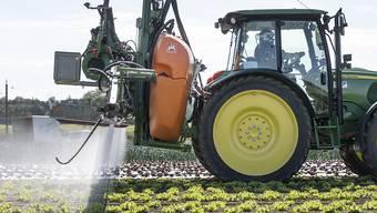 Generell ist der Gesamtabsatz von Pflanzenschutzmitteln in der Schweiz seit 2013 rückläufig, schreibt das Bundesamt für Landwirtschaft. (Archivbild)