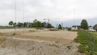 Rund 14'000 Kubikmeter belasteter Boden mussten separat und fachgerecht entsorgt werden.
