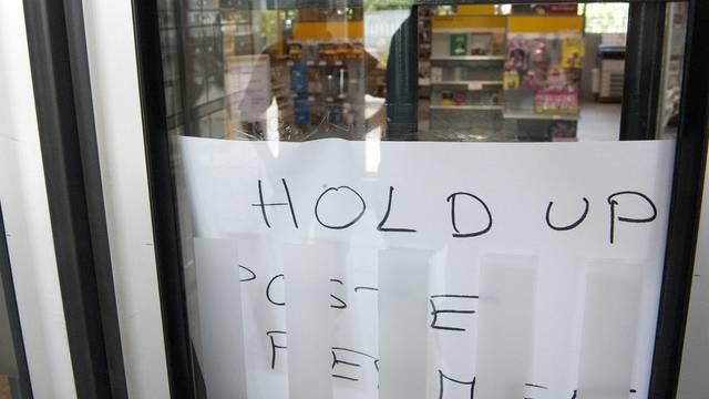 Post in Gland wegen Raubüberfalls geschlossen - zwei Verdächtige gefasst