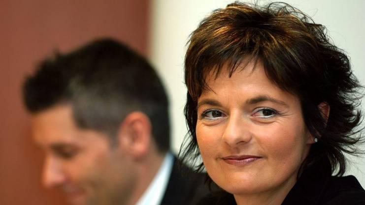Ruth Metzler zog mit 35 in die Landesregierung ein.