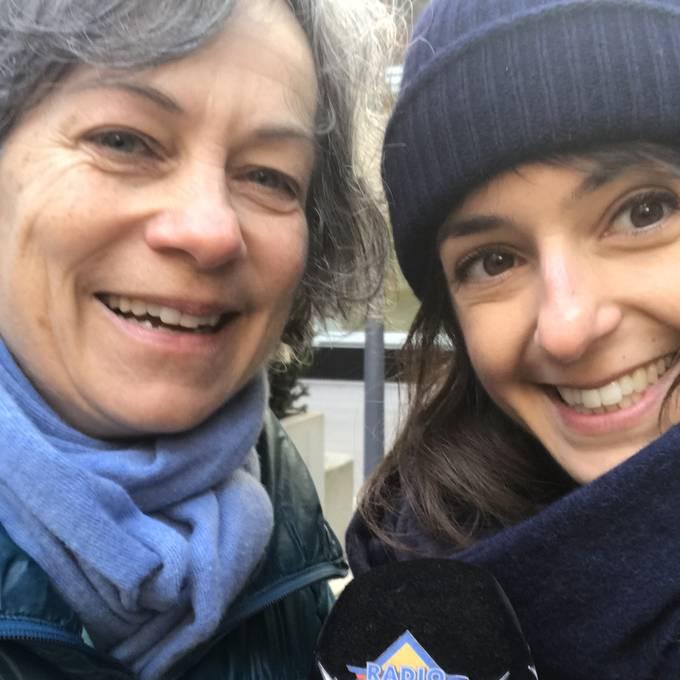 Ufem Bänkli mit Sandra Gloor Wildtierbiologin vom Projekt StadtWildTiere