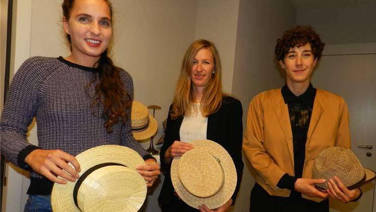 Die Preisträgerinnen: Chantal Bavaud, Aude Genton und Sabine Lauber (von links).