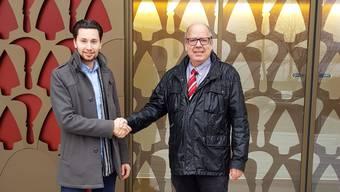 Pascal Brun übernimmt das Amt des Gemeindeschreibers von Jürg Engeli.