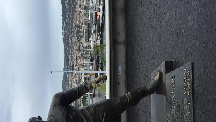Der portugiesische Fussballstar Cristiano Ronaldo ist auf Madeira geboren.