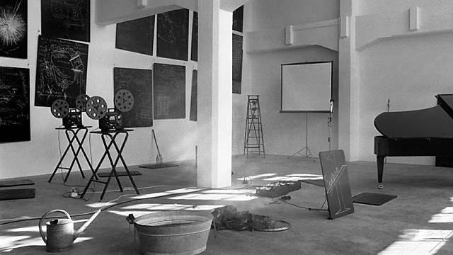 Die vielteilige Rauminstallation von Josef Beuys (Archivbild aus dem Jahr 1985)