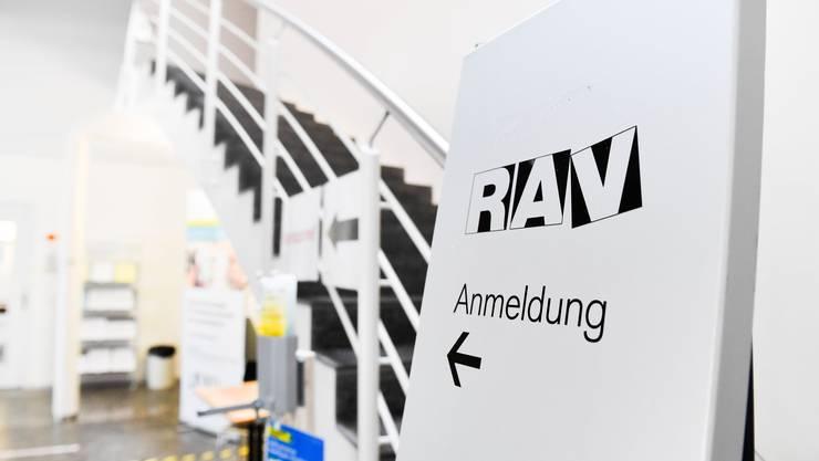 Büro des Regionalen Arbeitsvermittlungszentrums (RAV) in Frauenfeld. (Symbolbild)