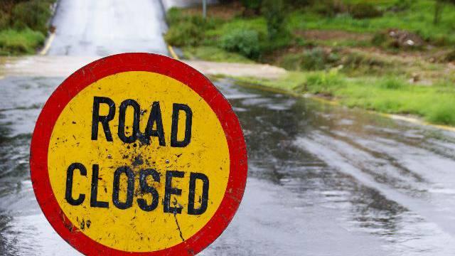 Bei starkem Regen müssen viele Strassen gesperrt werden (Bild: Nicole Annette Müller)
