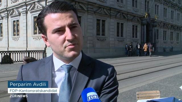 FDP-Kantonsratskandidat - Wahlvideo auf Albanisch