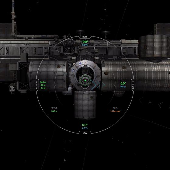 SpaceX Simulator - Schaffst du es, sicher an der ISS anzudocken?