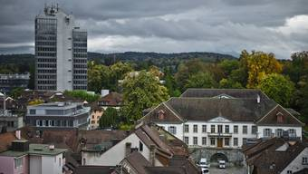 Die Gebäude der Kantonsverwaltung Aargau.