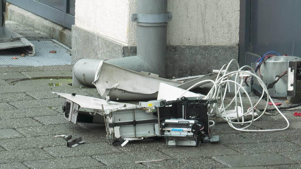 Kurznachrichten: Bancomat-Sprenger Sevelen, Unfälle