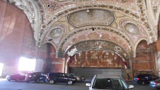 Das Michigan Theatre ist heute eine Parkgarage. / Benjamin Weinmann