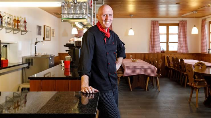 Markus Lerch, neuer Pächter im Bergrestaurant Bettlachberg.