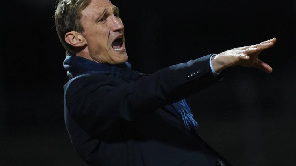 FCZ Cheftrainer Sami Hyypiä hat nicht alle Sorgen ablegen können