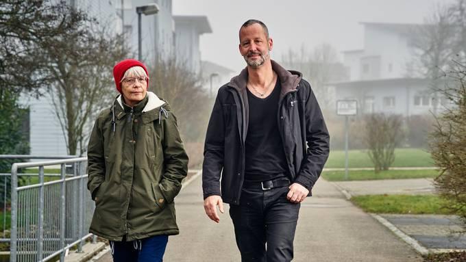 Standen in Baden vor Gericht: Martina Hess und ihr Sohn Beni Hess.