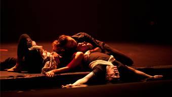 Alles kann – nichts muss: Die jungen Schauspieler bestimmen selbst, welches Stück sie aufführen (Szene aus dem Stück «Youth»)