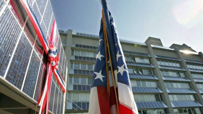 Auch die US-Mission in Genf übermittelt geheime Botschaften per Funk. Foto: Keystone