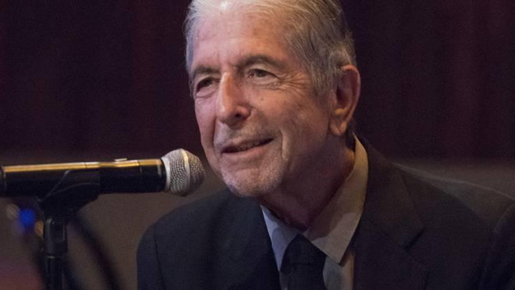Leonard Cohens letzte Gedichte sollen im Oktober 2018 erscheinen. Der kanadische Singer-Songwriter, hier 2014 in New York, ist im November 2016 im Alter von 82 Jahre gestorben. (Archiv)