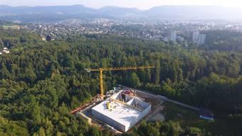 Grösstes Wasserreservoir im Aargau