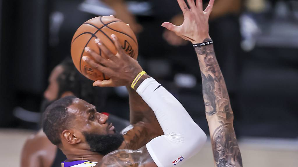 Los Angeles Lakers eliminieren Houston Rockets