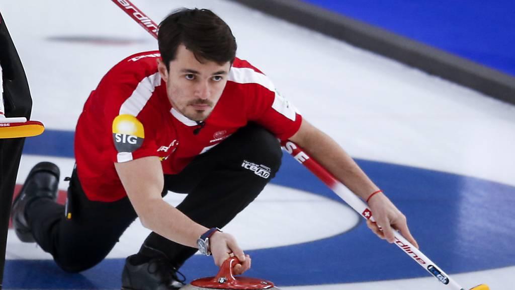 Schweizer Curler hoffen auf Schottland und Deutschland
