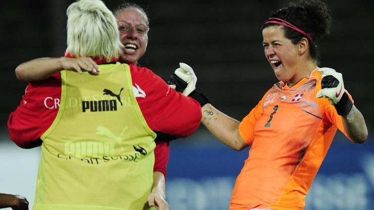 Marisa Brunner bestritt 78. Länderspiele der Dress der Nationalmannschaft.