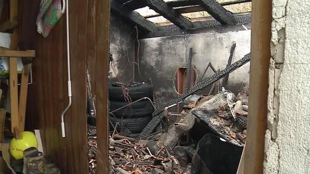 Grosser Schaden bei Brand in Niedergösgen