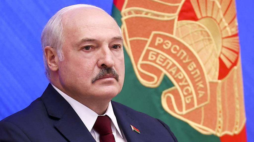 SCREENSHOT - Alexander Lukaschenko, Präsident von Belarus. Foto: Pavel Orlovsky/BelTA Pool/AP/dpa