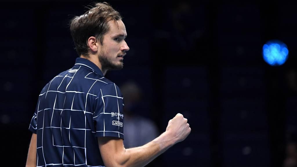 Medwedew triumphiert gegen Dominic Thiem