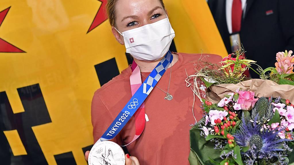 Jolanda Neff & Co. bringen vier Medaillen nach Hause